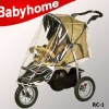 CE certificate high quality rain cover for tricycle