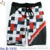 children boy custom swimming trunks