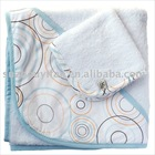 organic cotton/bamboo& cotton hooded baby towel BC-BR1173