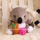 2011 new fashion lovely stuffed & Plush toys koala bear in plush animal