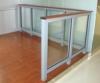 aluminium-wood composite handrail