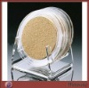 Crystal round perspex cup coaster teahouse accessory