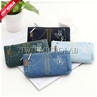 korean cute canvas elegant pencil bag