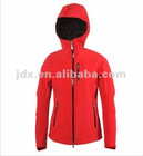 Red woman's softshell jacket
