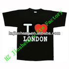 hot sale printed souvenir T-shirt