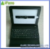 White Leather Case with bluetooth keyboard for iPad
