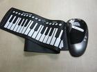 61 keys Roll up electronic keyboard