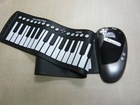 61 keys Roll up electronic keyboard