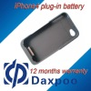 Hot!!! Mobile phone charger,Plug-in battery for Apple iPhone 4 4s