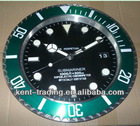 "14"" Luminous metal wall clock, stainless steel wall watch and any logos will be ok"