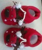 Baby christmas shoes