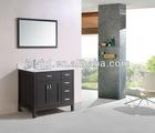 American bathroom vanity cabinet/bathroom sink base cabinet