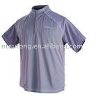 100% silk men's short-sleeves T-shirts