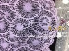 100%polyester lace fabric