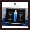 2012NEW ITEM cocktail shaker set with Martini glass cup