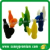 Bottle Shape Silicone Glass Suckers