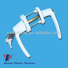 Aluminium Handle With Safety Lock For PVC Door&Window