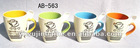 yiwu best-seller ceramic coffee mugs with spoon for September
