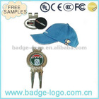 magnetic golf ball marker hat clip with custom logo