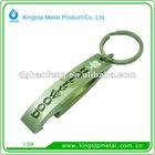 promotional metal bottle opener keychain