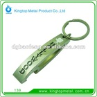 promotional metal bottle opener keychain