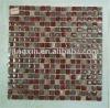 Glass Mixed Slate Mosaic Tiles,mixed stone mosaic