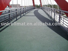 Rubber Flooring for Bridge Corridor