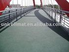 Rubber Flooring for Bridge Corridor