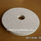 100% wool felt polishing disc