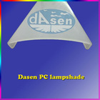 Plastic Extrusion Large LED Lampshade/PC Cover/PC Tube