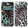 Leopard skin for mobile phone PU case for iphone 5