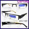 Half frame eyeglasses,stainless steel optics
