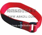 Beautiful!!!colorful and different specification nylon velcro belt