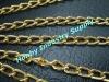 aluminum fancy shoe chain with die-cut