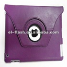 PU leather smart 360 circle case for ipad2 3