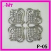 wholesale fashion metal embellishments for scrapbook