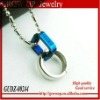2012 newest fashion stainless steel couple rings pendant