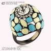 fashion hot sale quietly elegant crystal ring,popular high quanlity jewelries,wholesale rings,rings made in china.