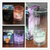 Led light drinking cup