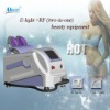 Portable 2 in 1 E-light & RF Skin Tightening Machine