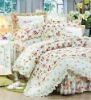 Nice Feeling 100% Cotton Fabric Home Textie Product bedding sets(6pcs)