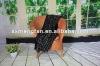 2012 100%acrylic+belly yarn polka dot pattern tatting tassels scarf shawl