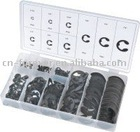 300 pc E-clip assortment hardware tools
