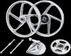 DY-100 motorcycle aluminum wheel rim kit