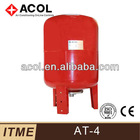 Red Vertical Expansion Tank