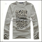 Long sleeve custom t shirt printing