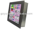 "15""Mapletouch 8 COM ports HMI all in one touch pc(embedded touch pc) Window 7-QC156"