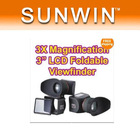 "NEW 1 pcs 3X Magnify 3"" LCD Viewfinder for Canon 5D mark II Nikon#2"