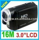 Free shipping 100% NEW Anti Shake 16 MP Pixel 3.0 inch TFT 8 Digital zoom HD Digital Video Camcorder DV Camera