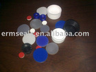 glass autosampler vials with PTFE silicone washer